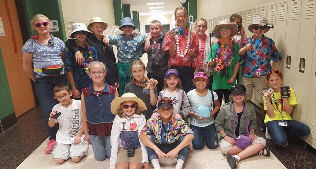 5th grade tourists
