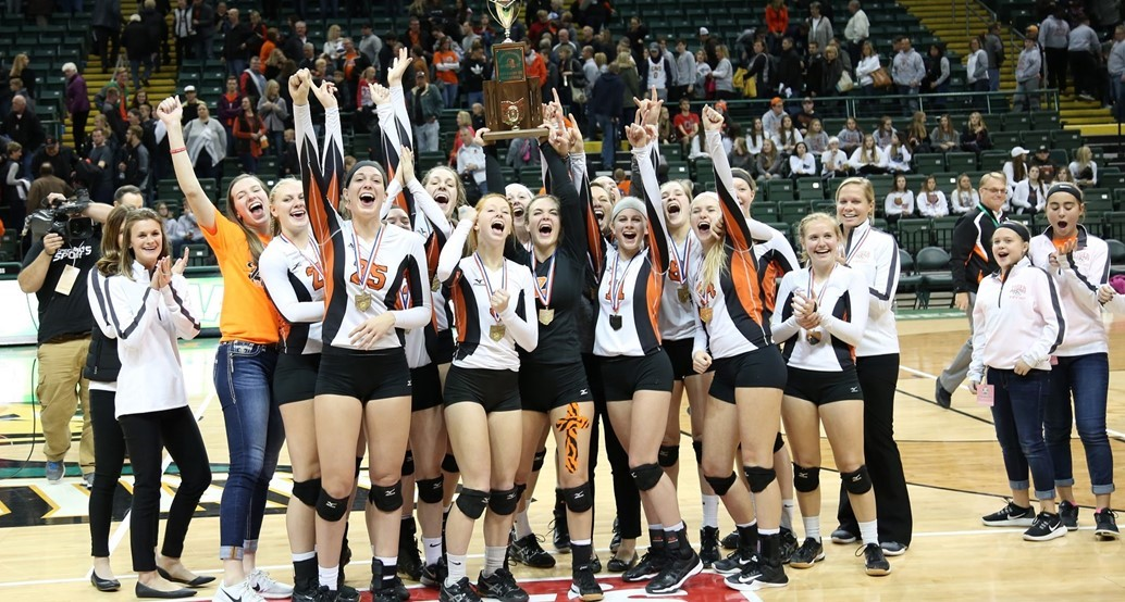 State Championship Volleyball Team