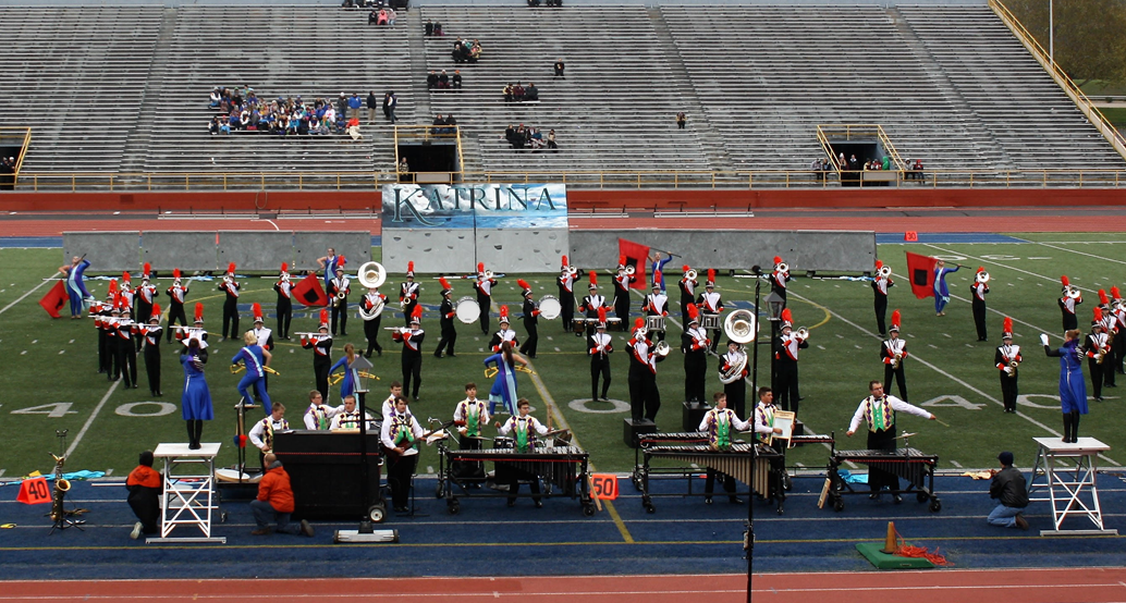 VHS Marching Band State Contest