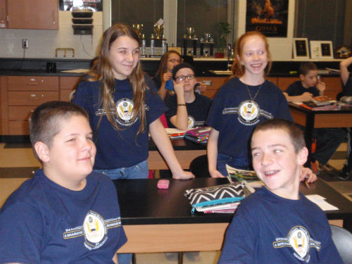 Blue Ribbon School - students in the classroom