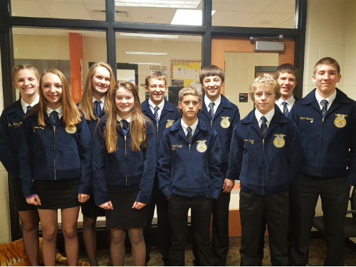 FFA STUDENTS GOING TO STATE CONVENTION