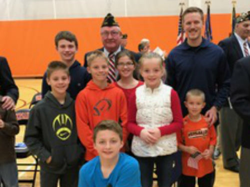 More Veteran's with their families