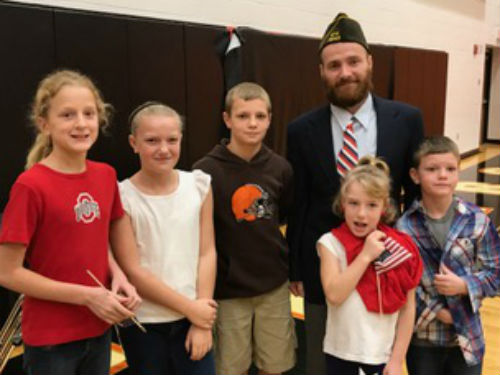 Our students are proud of their Veterans