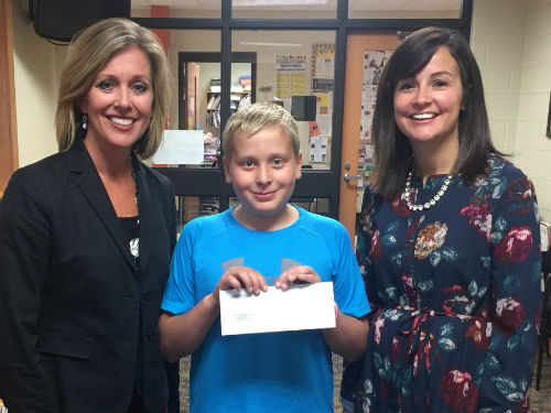 MRS PATTON'S CLASSROOM RECEIVES DONATION FROM GORDON ORTHODONTICS