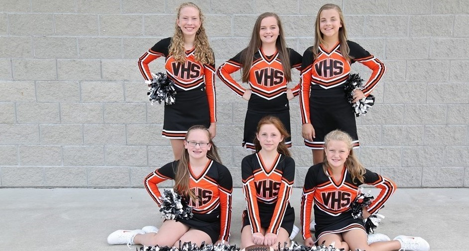 JH Football Cheerleaders