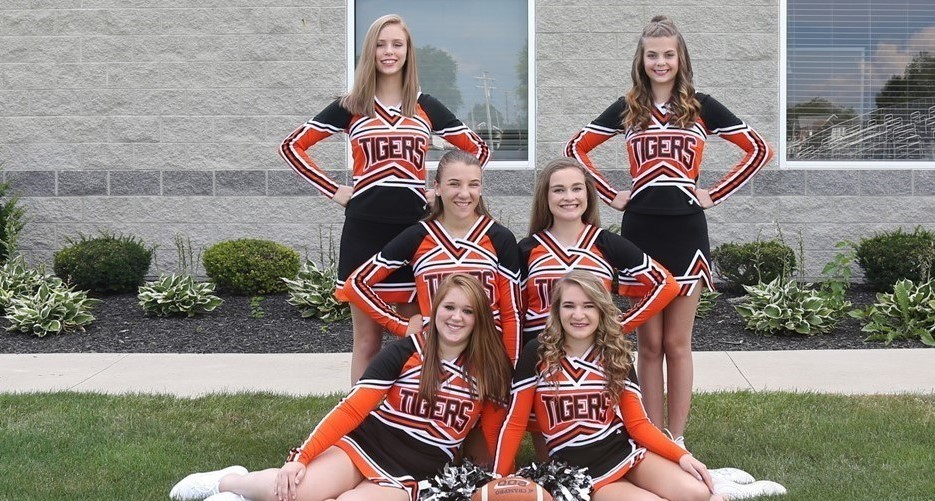 JV Football Cheerleaders