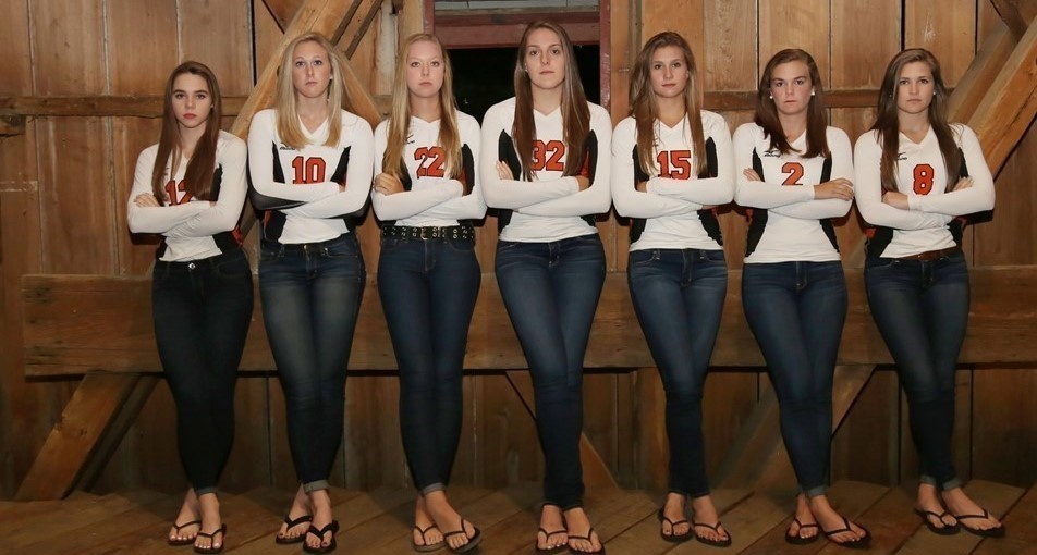 Senior Volleyball Players