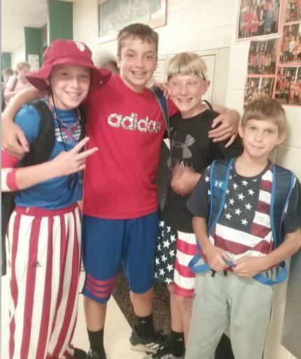 Patriotic Day dress up