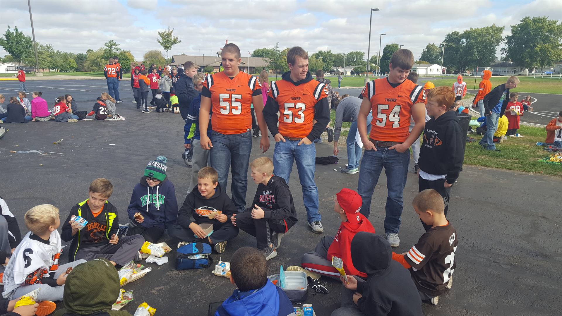 Tailgate party homecoming week