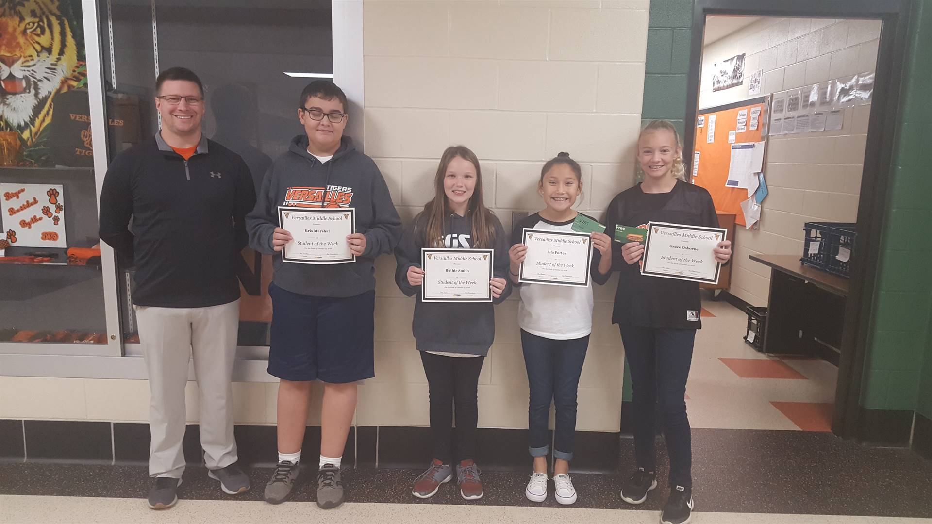 Students of the Week 10/5