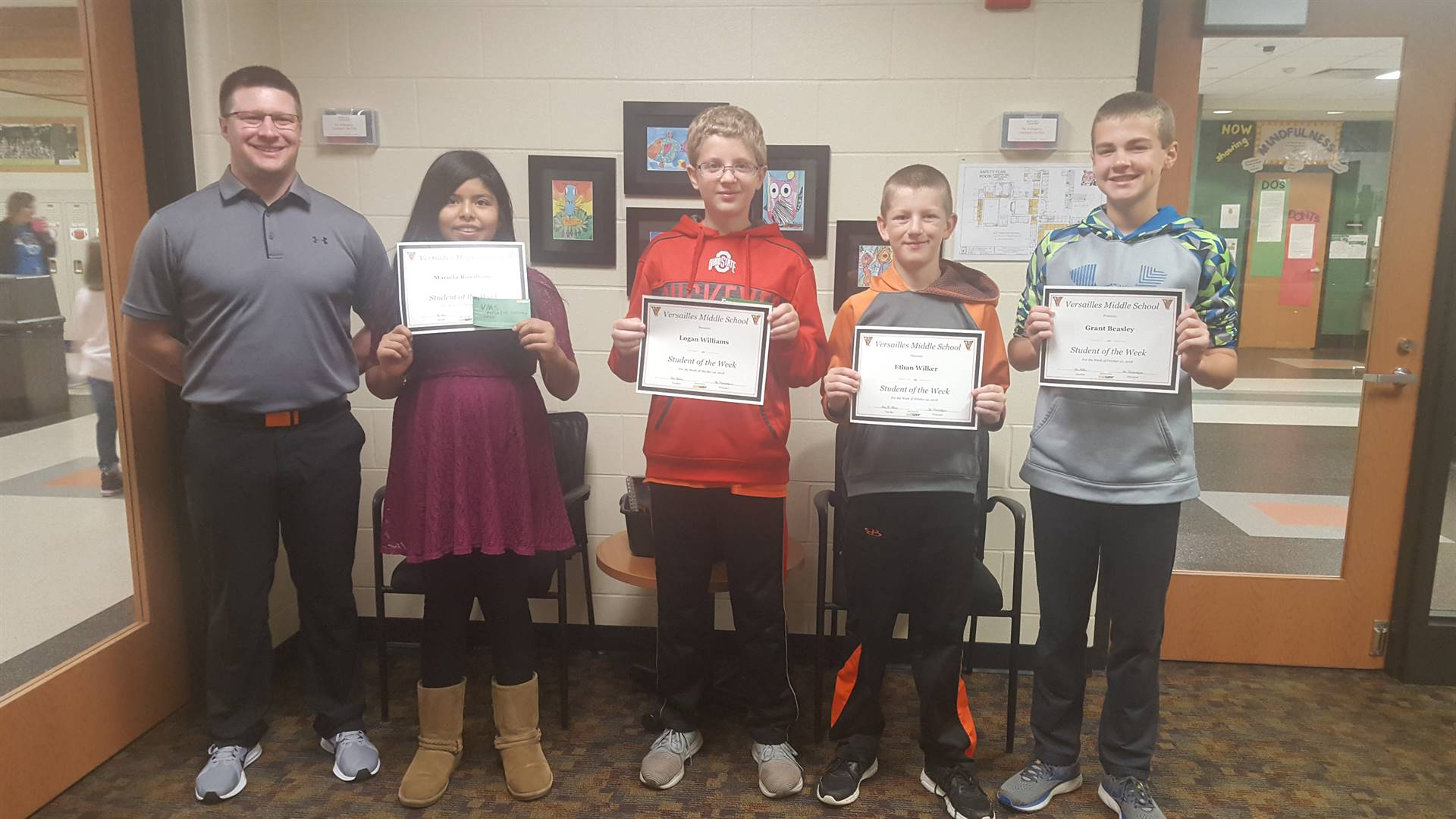 Students of the Week 10/19