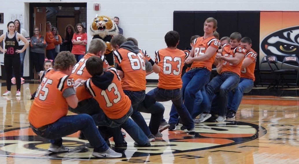 Pep Assembly Homecoming Friday
