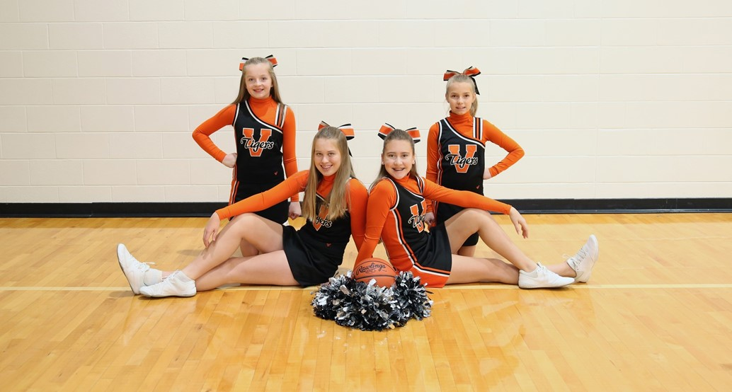 7th grade basketball cheerleaders