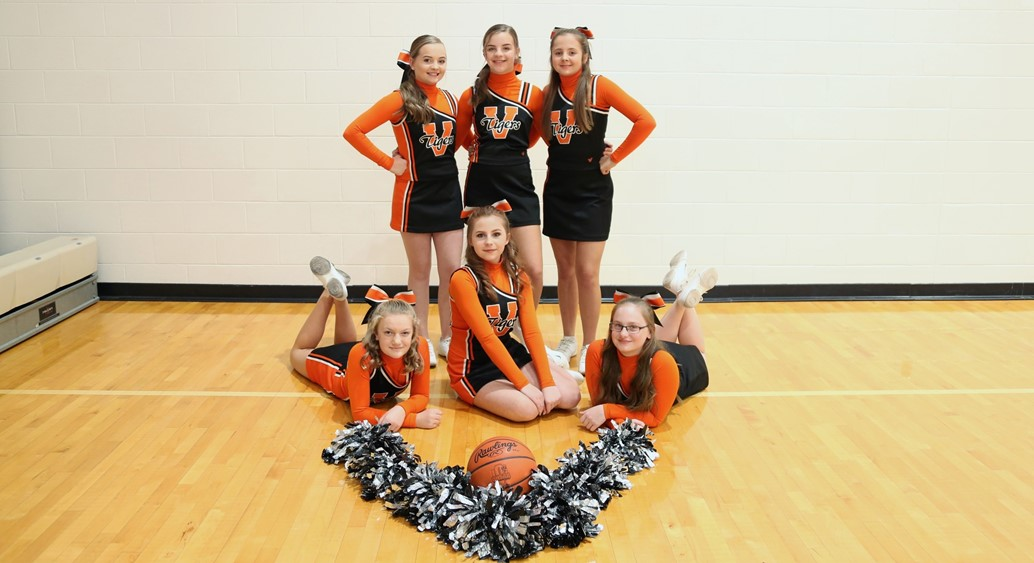 8th grade basketball cheerleaders