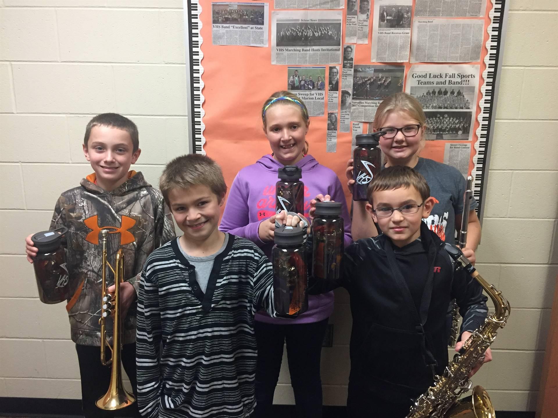 5th grade band awards