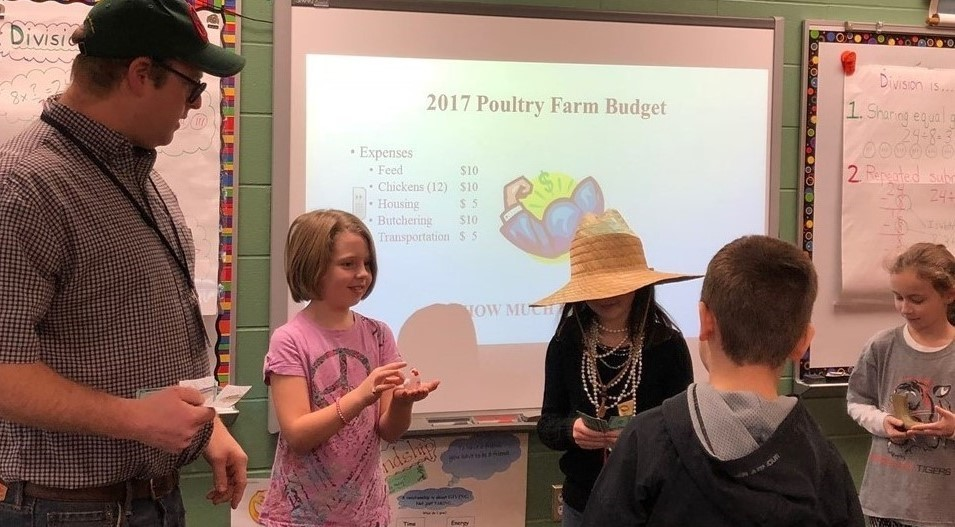 "Third Grade Visit - ""Map On The Farm"""
