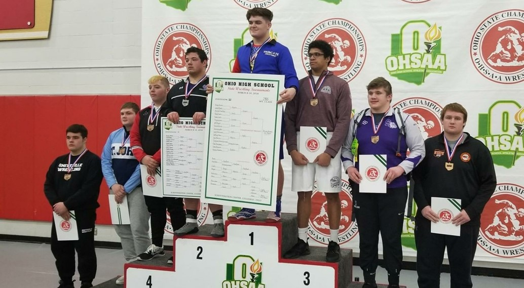 Wrestlers Place at State