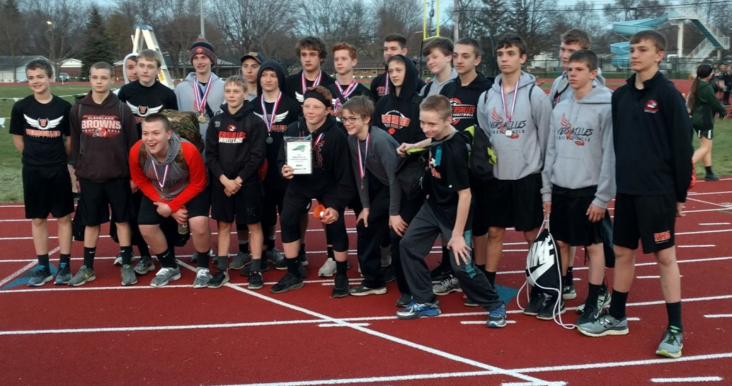 Boys Jr. High Track