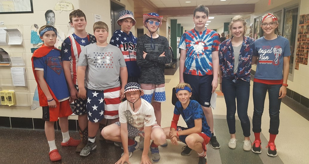 America them spirit day