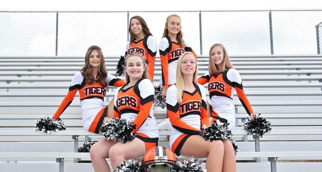 JV Football Cheerleaders