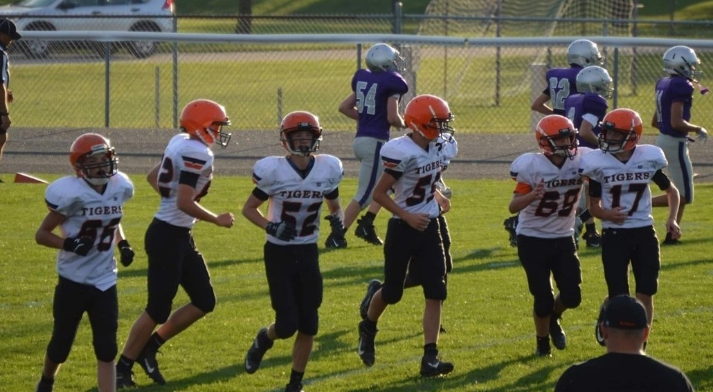 8th Grade football against Ft. Recovery