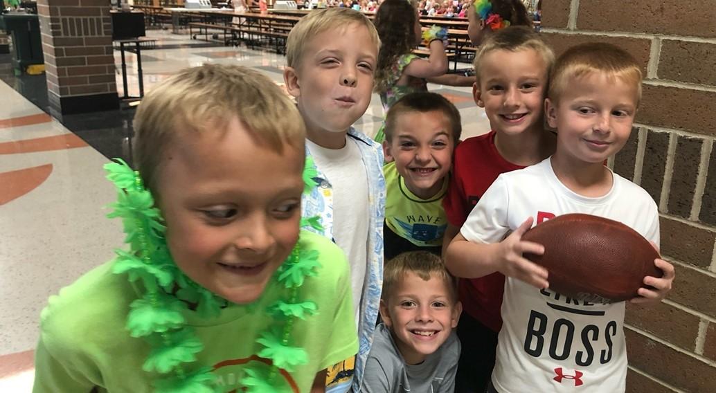 2nd Grade Boys Having Fun