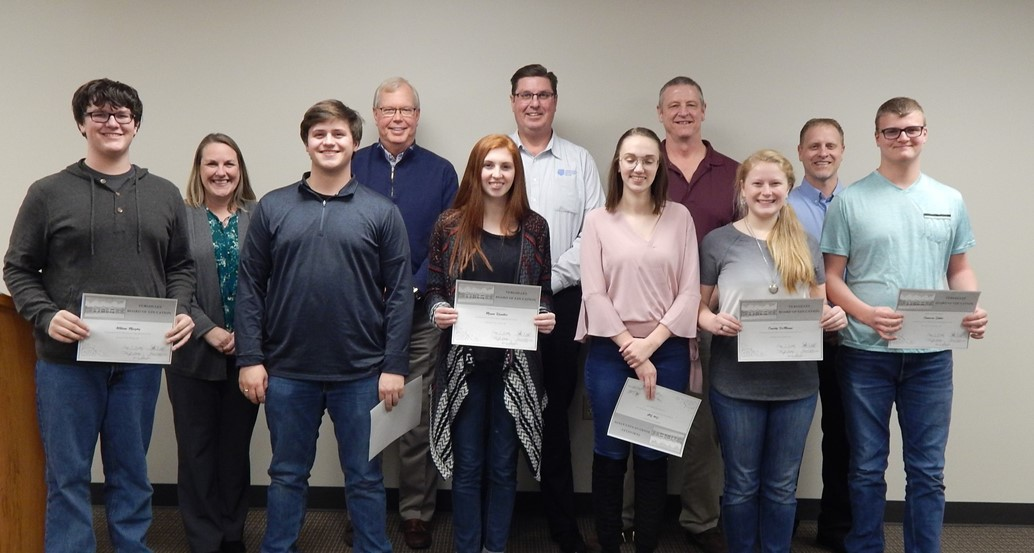 January Board Meeting Student Commendations