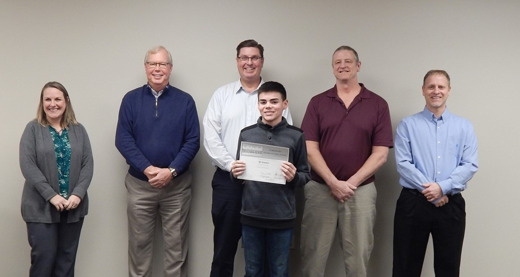 January Board Meeting Student Commendation