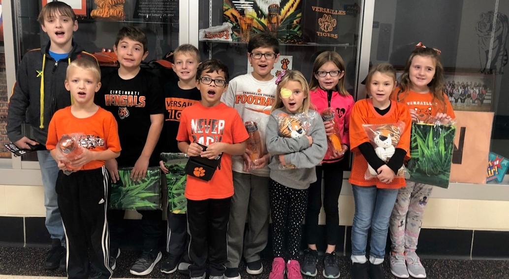 11/1/19 Tiger Pride Winners