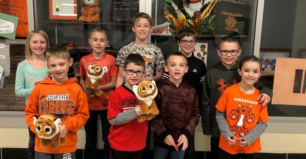 Tiger Pride Winners