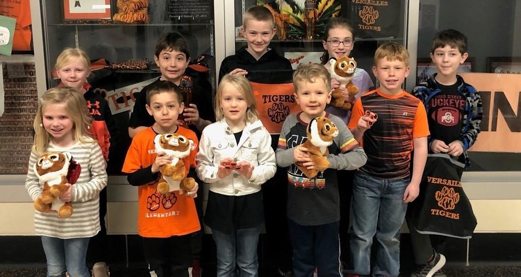 Tiger Pride Winners!