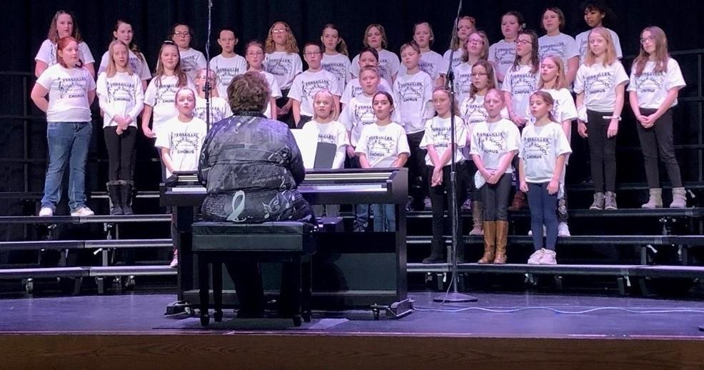 After School Chorus Performance