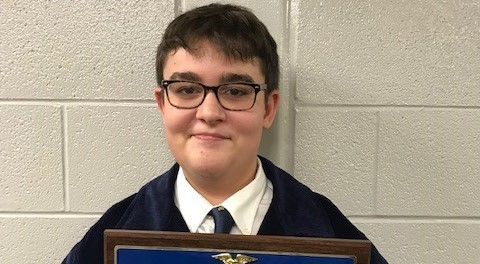 FFA student earns first