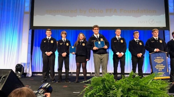 FFA students recognized