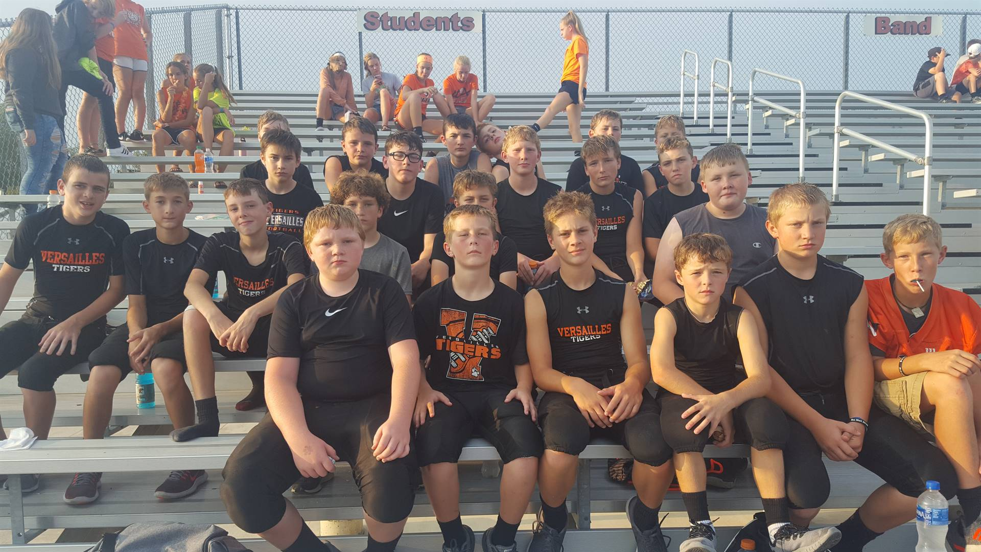 7th grade football team