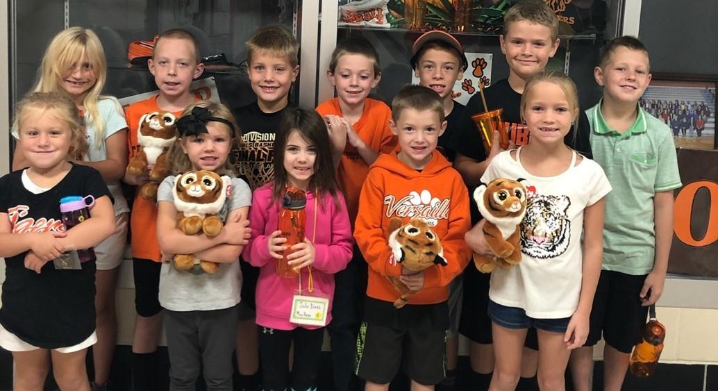 Tiger Pride Winners on 9/6/19