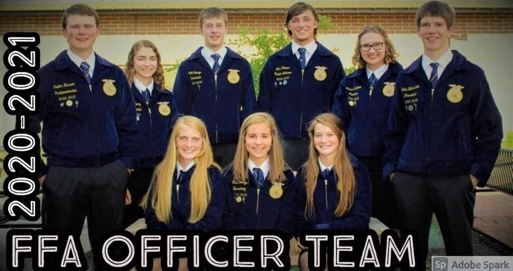 FFA Officers 2020-2021