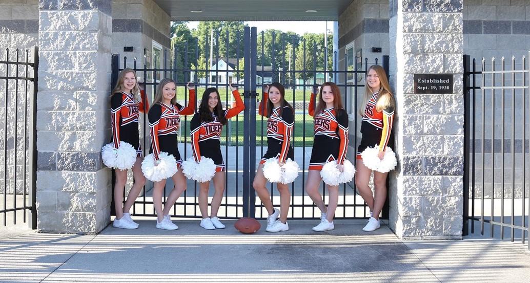 JV Football Cheerleading