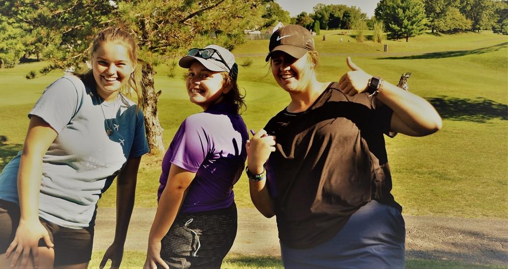 Girls Golf Fun