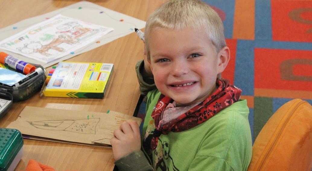 Learning in Kindergarten!