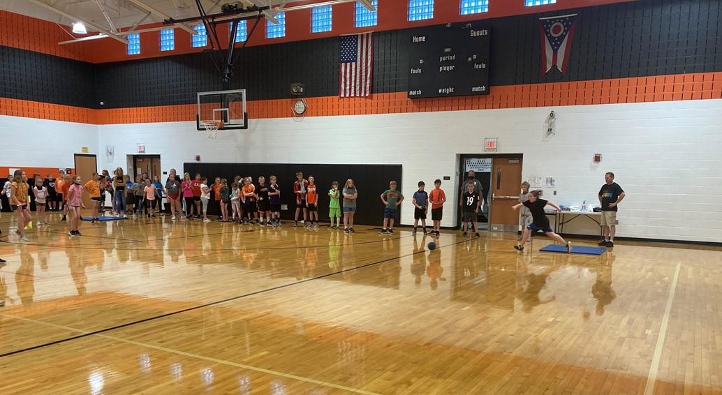 4th Grade Kickball