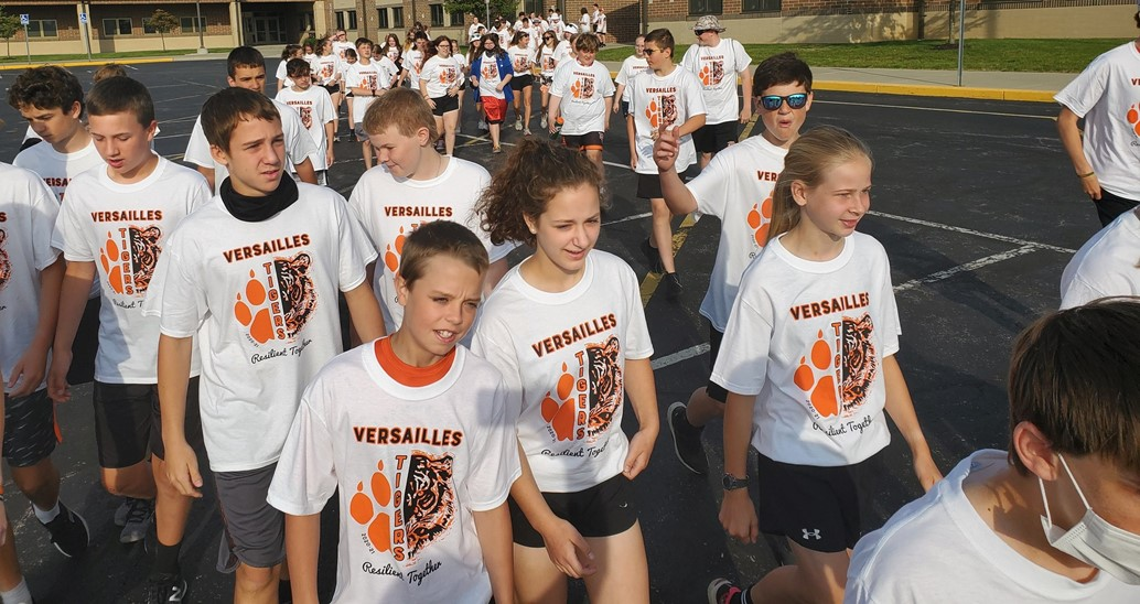 Heading to the track for the Get R.E.A.L 5 K